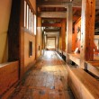 Japanese Castle Hallway — Stock Photo