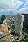 Panoramę shinjuku — Zdjęcie stockowe