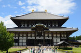 Todai-ji Temple in Nara, japan — 图库照片