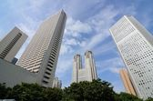 Shinjuku kontorsbyggnader — Stockfoto