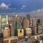 Osaka Skyline — Stock Photo #6412404