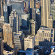 Aerial view of Manhattan — Stock Photo
