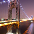 George Washington Bridge — Stock Photo
