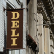 Stock Photo: Deli Sign