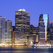 Lower Manhattan Skyline — Stockfoto