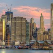 Lower Manhattan Skyline — Stock Photo #6602239