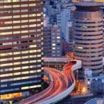Skyline of Osaka Japan — Stock Photo #6602543