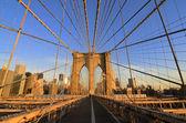 Puente de brooklyn — Foto de Stock