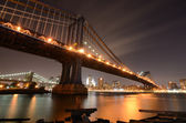 Manhattan bridge — Stockfoto