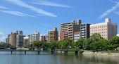 город хиросима — Стоковое фото