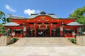 Ikuta 神社 — 图库照片