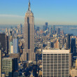 Manhattan Island Skyline - Stockfoto