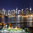 Midtown Manhattan Skyline - Stockfoto