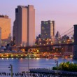 Lower Manhattan Skyline - Stockfoto