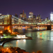 Manhattan Skyline - Stockfoto