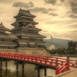 Matsumoto Castle in Matsumoto, Japan — Stock Photo