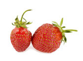 Strawberry on a white background — Stock Photo
