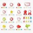 Stickers Set — Stock Vector