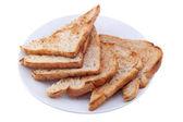 Crispy Toasts — Stock Photo