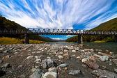 Most długi alpejski — Zdjęcie stockowe