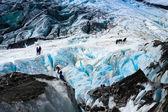 フランツ ・ ジョセフ氷河 — ストック写真