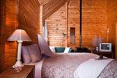 Fox Glacier Lodge apartment Interior — Stock Photo