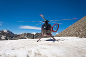 Mountain Helicopter — Stock Photo