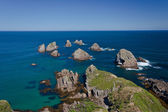 Nugget Point Rocks, New Zealand — Stock Photo