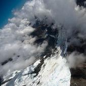 ледник полет, новая зеландия — Стоковое фото