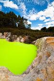 魔鬼浴、 新西兰 — 图库照片
