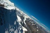 ニュージーランドでマウンテン ヘリコプター飛行 — ストック写真