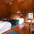 Stock Photo: Fox Glacier Lodge apartment Interior