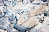 Glacier Surface, New Zealand — Stock Photo