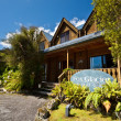Fox Glacier Lodge — Stock Photo