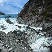 Franz josef glacier - nový zéland — Stock fotografie