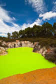Amazing Devils Bath - New Zealand — Stock Photo
