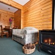 Fox Glacier Lodge apartment Interior — Stock Photo