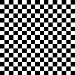 Stock Photo: Checkered chess board background