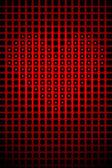 Heart shape romantic love abstract background — Stock Photo