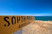 Slope point i Nya Zeeland — Stockfoto