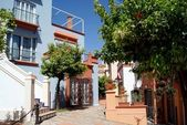 Detail of houses in south of Spain — Stock Photo