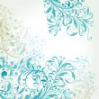 Vector background with a flower pattern. — Stock Vector