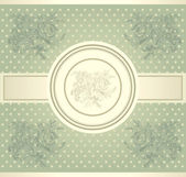 Classical wall-paper with a flower pattern. — Stock Vector