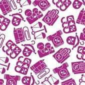 Paarse textuur korting — Stockvector