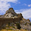 Stock Photo: Wall fortress in Crimea