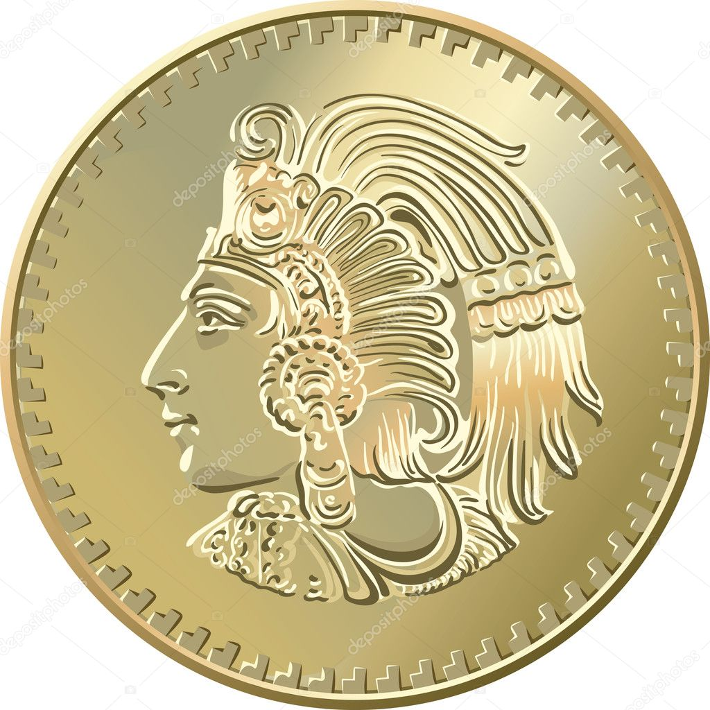 Old Mexico Gold Coins http://depositphotos.com/6248614/stock-illustration-Mexican-coin-with-the-image-of-the-Indian.html