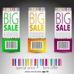 Color vector sale tickets — Stock Vector #5786078