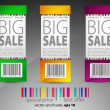 Color sale tickets — Stock Vector #5786082