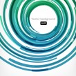 Nice abstract modern background with round shapes - Image vectorielle