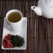 Wolberry tea presentation - Stock Photo